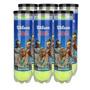 Bola Tenis Wilson Tour Select - Pack 24 Bolas - 06 Tubos