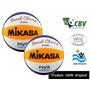 Bolas De Volêi Praia Mikasa Vls300 Kit 2 Bolas - Original