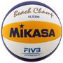 Bola De Volei De Praia Mikasa Oficial Vls 300 Top De Linha