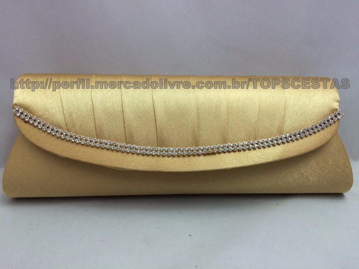 Bolsa Dourada Para Festa : Bolsa carteira dourada para ombro festa feminina r