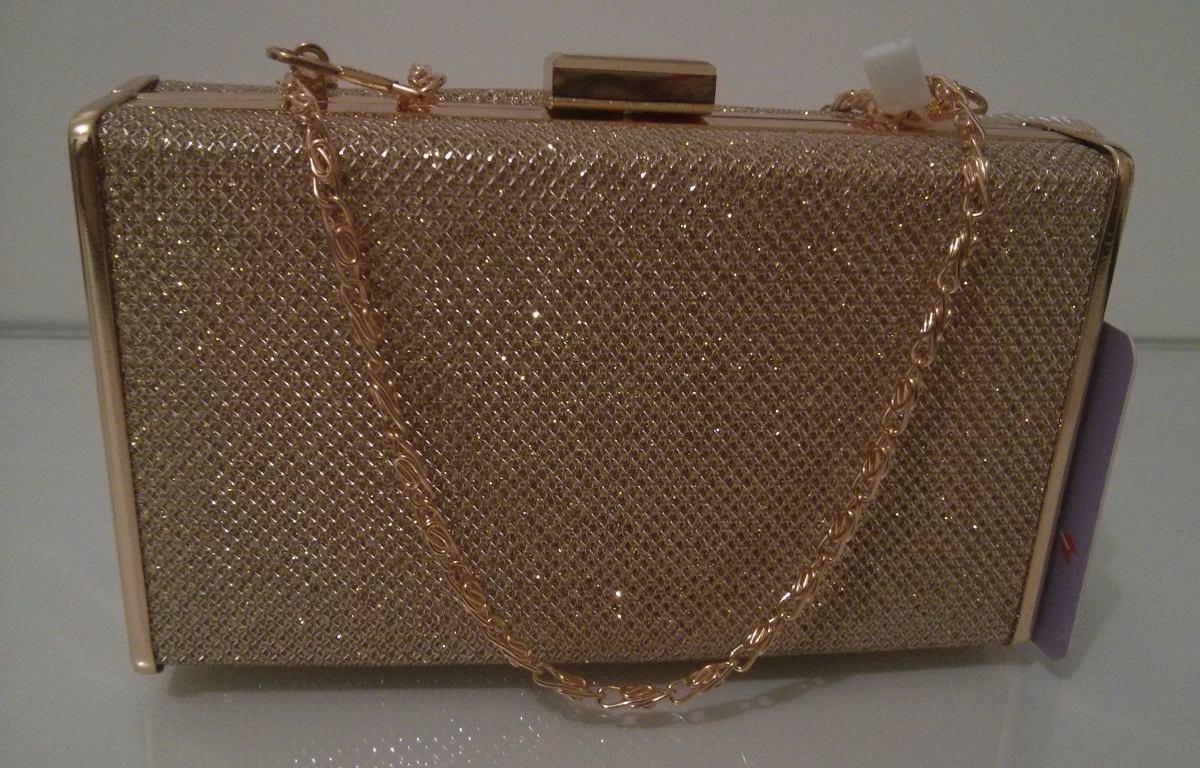 Bolsa Dourada Para Festa : Bolsa de festa dourada clutch carteira