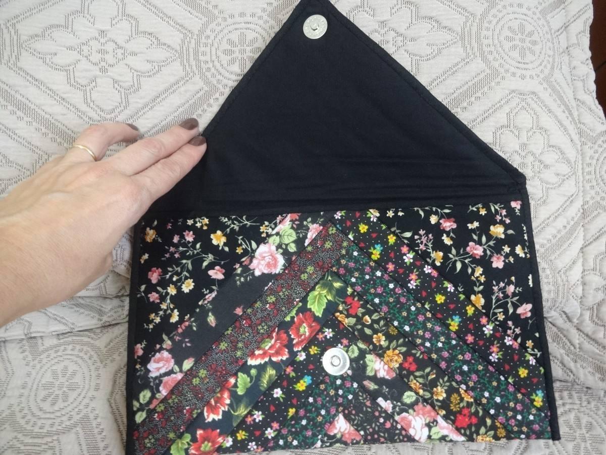 Bolsa De Tecido Artesanal : Bolsa de tecido patchwork artesanal nova r no