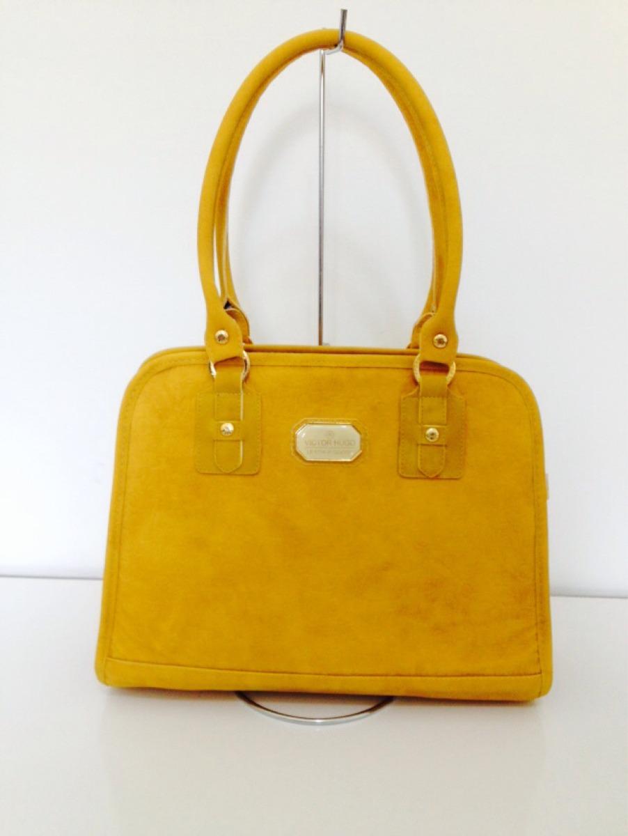 Bolsa Dourada Importada : Bolsa feminina importada vitor hugo mostarda r