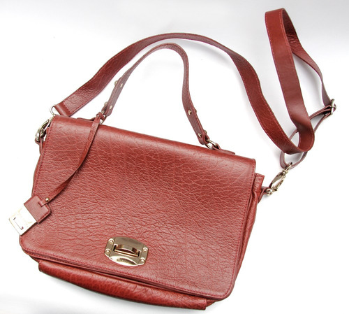 Bolsa Feminina De Couro Via Uno : Bolsa via uno couro r no mercadolivre