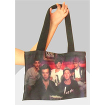 Bolsa Sacola - One Direction / Angry Birds / Romero Brito