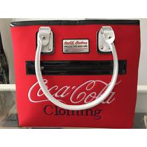 Bolsa Feminina Coca Cola Tipo Sacola Pronta Entrega