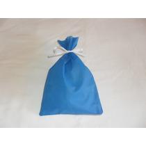 Saco Em Tnt . Pacote Com 10unid. - Tam. 23x14 - Azul Royal
