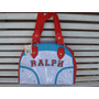 Bolsa Branca Ralph Lauren Polo Feminina Original Nova