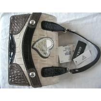 Bolsa Guess Americana Original Luxo Black Multi Efie Usa