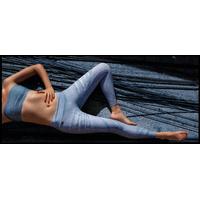 Calça Feminina Legging Jegging Leg Spandex Wet Cirré Skini