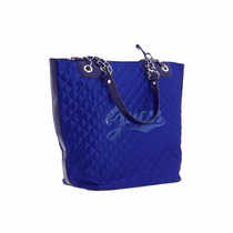 Bolsa Guess Azul Royal Com Paetês - Nova E Original!!