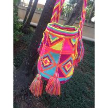 Bolsa Wayuu Colorida Original , Muito Linda !!!