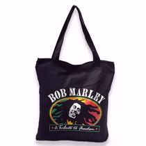 Bolsa Feminina Bob Marley Preta