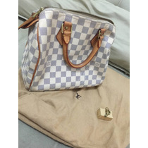 Original - Louis Vuitton Speedy Damier Azur 25 - 2011