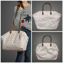 Bolsa Abercrombie & Fitch Off White 100% Original