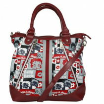 Bolsa Betty Boop B27a106 Vermelho