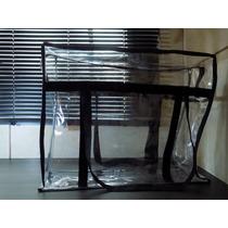 Bolsa Plástica Transparente Cristal 30mm Tam P E G Kit 02