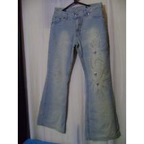 Calça Jeans Com Pedras 42