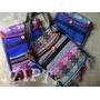Bolsa Transversal Hippie Chic - Púrpura & Azul | Feminina