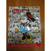 Sacola Disney Plastico Papel Presente Tam M Mickey Minnie