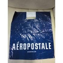 Sacola Aeropostale Plastico Papel Presente Tam P Roupas