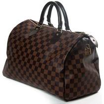 Bolsa Louis Speedy 30 Damier Ebene Premium Couro Legítimo