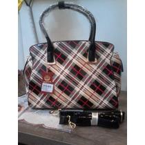 Maravilhosa Bolsa Importada Feminina Haute Red - Cod 0120