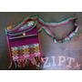 Bolsa Transversal Hippie Chic - Roxo Uva | Feminina Peruana