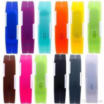 Relógio Nike Led Watch Diversas Cores Frete Grátis
