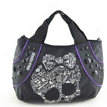 Bolsa Tiracolo Skullette Monster High Preta