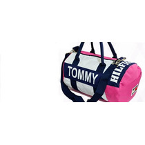 Bolsa Tommy Hilfiger Dufflle Mini Original + Frete Grát Pink