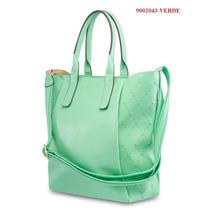 Bolsa Feminina Sintética Pallas Pl2043 Verde