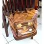 Bolsa Bag Mochila Italiana Romaity Couro