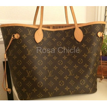 Bolsa Neverfull Monograma Mm Louis Vuitton
