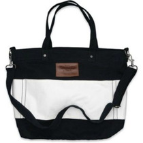 Bolsa Abercrombie & Fitch Off White E Azul 100% Original