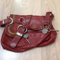 Bolsa Original Dior Vintage Em Couro Marrom
