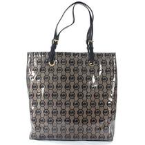 Bolsa Michael Kors Original Mono Coated Jacquard Tote Bag