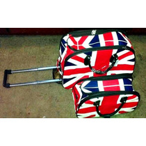 Kit De Malas Viajem Inglaterra 2 Bolsas Frete Grátis