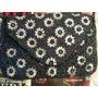 Bolsa De Mão Carteira Clutch Bordada Mão Flores Cristais