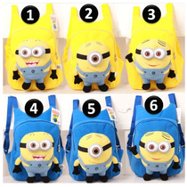 Bolsa Escolar Minion Plush Backpack