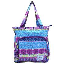 Bolsa Tote Bag P/ Notebook 14 Spector Sp5051 Escolar Roxa