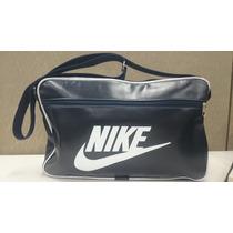 Bolsa Carteiro Nike Masculino Promoção Imperdível Preta Azul