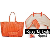 Bolsa Goyard St. Louis Couro Original Frete Grtis + Brinde