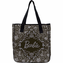 Bolsa Shopping Bag/tote Barbie Preta Xeryus