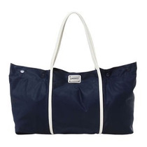 Bolsa. Azul Marinho & Branca. 30,5x56,5x 17, 5cm Lacoste