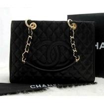 Chanel Shopper Em Couro Legítimo A Pronta Entrega !!!!