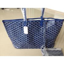 Bolsa Goyard Azul Original Couro Legítimo +frete 12xsj Rm