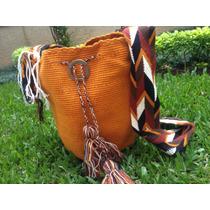 Bolsa Wayuu Colorida Original Tecida A Mao, Muito Linda !!!