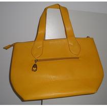Bolsa Feminina Haute Fashion Amarela Tamanho 38 X 24 Usada