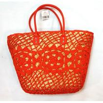 Bolsas De Palha Crochê Elegante Verão 2016 Moda Praia